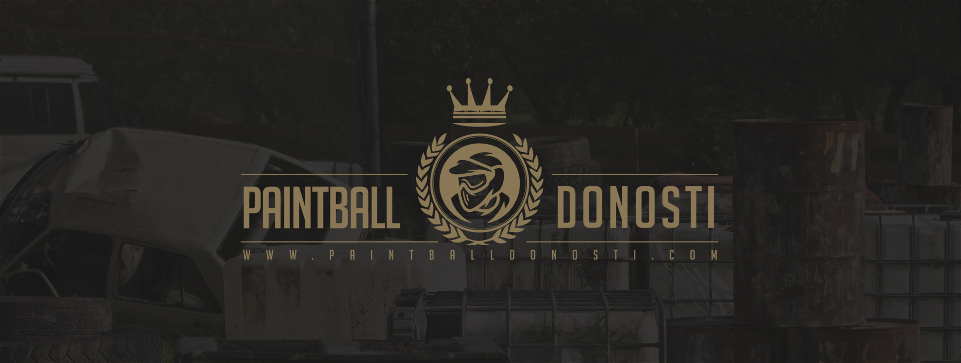 Paintball Donosti | Logotipo